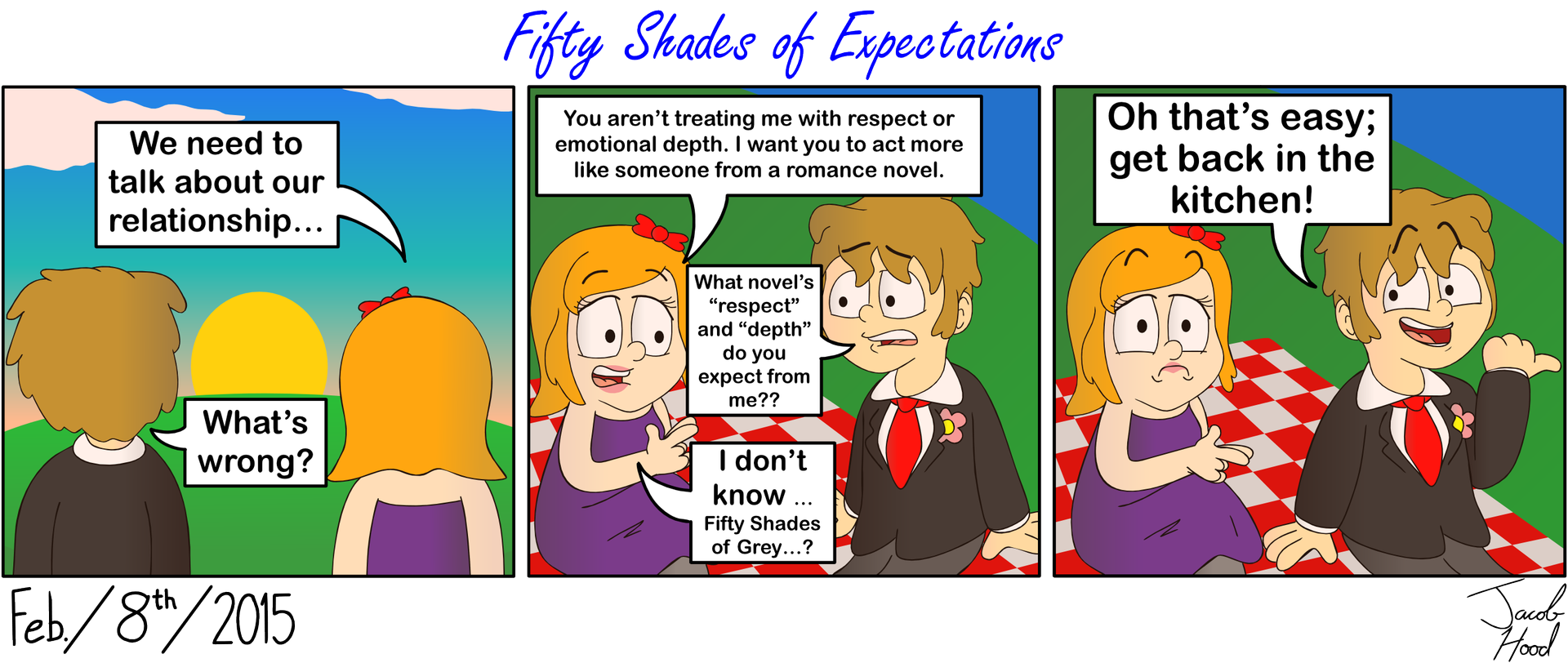Fifty Shades of Expectations