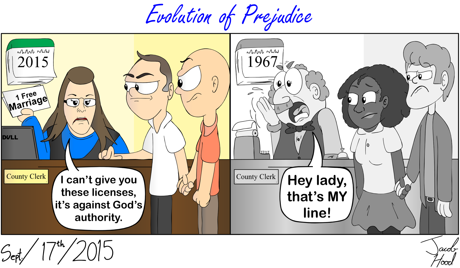 Evolution of Prejudice